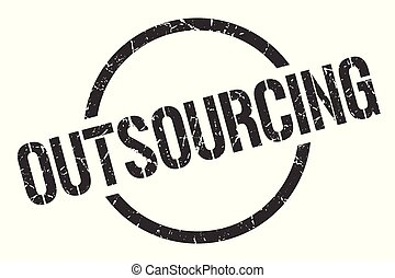 切手, outsourcing
