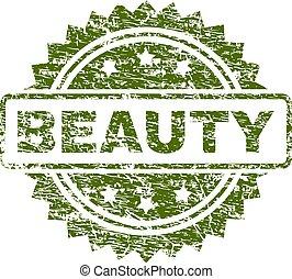切手, textured, グランジ, 美しさ, シール