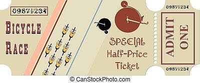 切符, ∥ために∥, a, 自転車競技