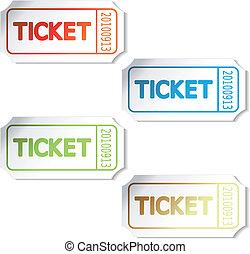 切符, ベクトル