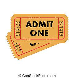 切符, 型