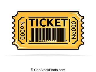 切符, 黄色