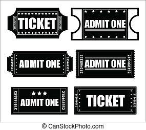 切符, vectors