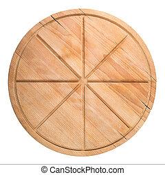 切, 砧板, 比薩餅
