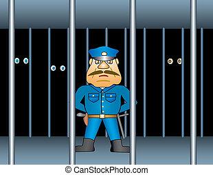 刑務所, proctor.