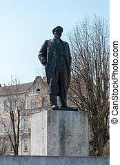 列宁, 紀念碑