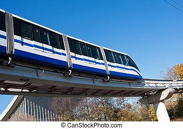 列車, モノレール