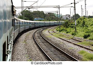 列車, 回転