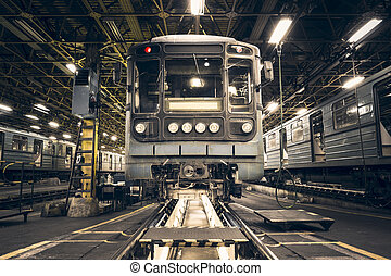 列車, 地下鉄