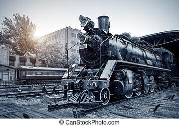 列車, 型, 蒸気