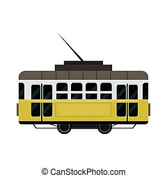 列車, 市街電車, ワゴン, 都市, 輸送