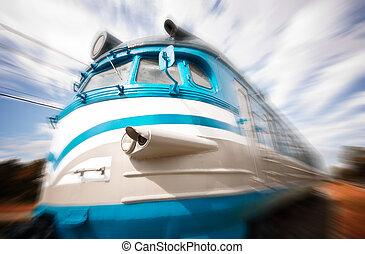 列車, 引っ越し