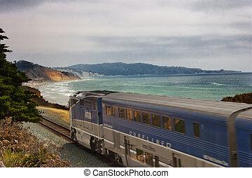 列車, 海洋