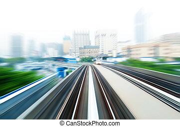 列車, 空