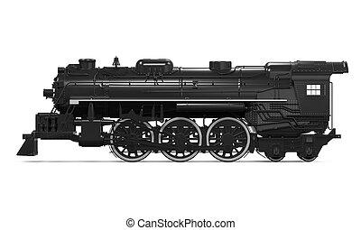 列車, 蒸気, 機関車