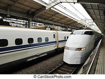 列車, 銃弾
