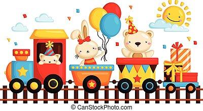 列車, birthday