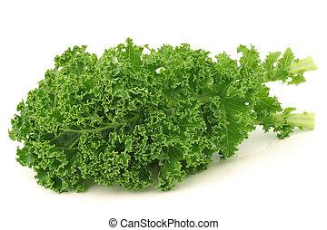 刚才, 收获, kale, 洋白菜