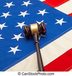 判斷, 木槌, 由于, 美國旗, -, 1, 到, 1, 比率