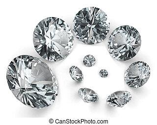 別, らせん状に動きなさい, ダイヤモンド