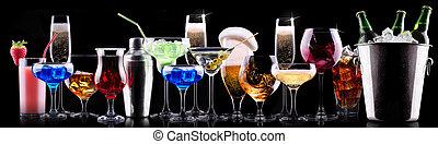別, アルコール, 飲み物, セット