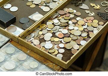 別, コイン, 古い, 国