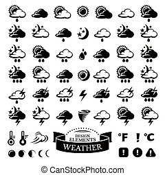 別, 天候, コレクション, アイコン