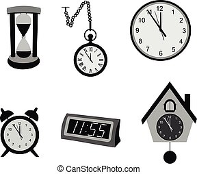 別, 種類, clocks.
