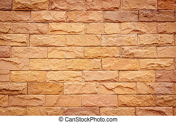 別, 自然, 壁, 調子, オレンジ, れんが