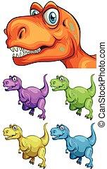 別, 色, t-rex