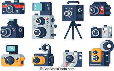 別, cameras, セット, タイプ