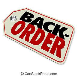 利用できる, 価格, 背中, 順序, タグ, 商品, ない, 売られた, 店, から