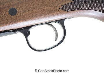 制動機, ライフル銃