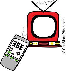 制御, テレビリモート