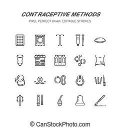 制御, 方法, 装置, clinic., サイン, 完全, sterilization., ピクセル, 避妊, 障壁, ...