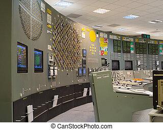 制御, 植物, 部屋, 世代に電力を供給しなさい, 核, ロシア人