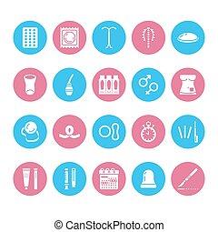 制御, 装置, clinic., サイン, glyph, 完全, シルエット, sterilization., ピクセル...