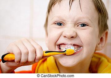 刷, 你, 牙齒