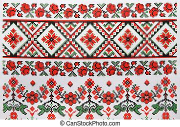 刺繡, 烏克蘭人