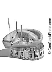 刺鍼術の 針