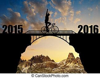 前方へ, 新しい, 2016, 年