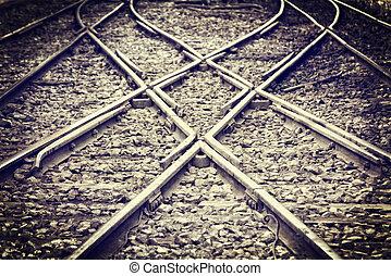 前方へ, 鉄道, 方法