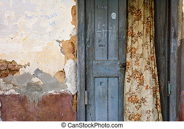 前部, でこぼこである, ドア