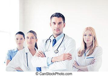 前部, 医学, マレ, グループ, 医者