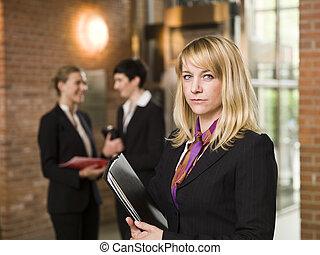 前部, 女性実業家, 彼女, チーム