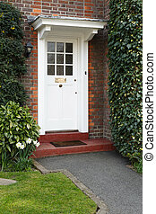 前部, 家, ロンドン, ドア