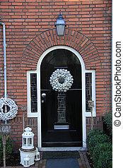 前門, 由于, 圣誕節裝飾