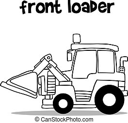 前面, 平局, loader, 手