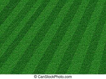 剝去, 草坪
