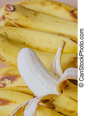 剝皮, 成熟, 香蕉